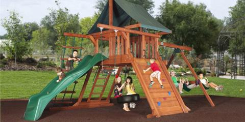 How Playground Equipment Benefits Kids' Health, Broken Arrow, Oklahoma