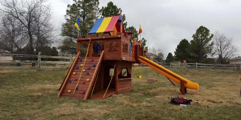 Thinking About a Swing Set or Trampoline? 3 Benefits of Outdoor Play, Denver County, Colorado