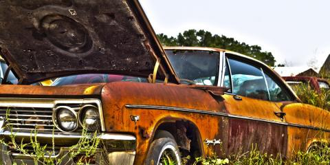 3 Reasons to Get Rid of a Junk Car This Spring, Barkhamsted, Connecticut