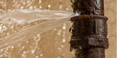 3 Steps to Take When a Pipe Bursts, Albany, Oregon