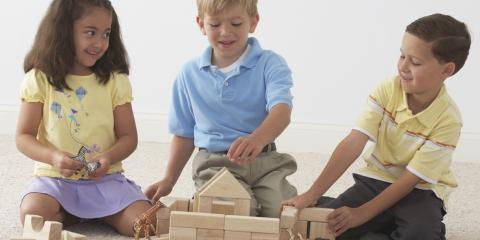 What Children Learn From Building Blocks in Preschool, Plymouth, Michigan