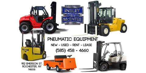 Insley McEntee has the Pnuematics for your Jobsite, Rochester, New York