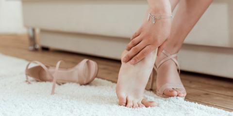 Podiatrist Explains How Women's Shoes Can Cause Foot Pain, Mason, Ohio