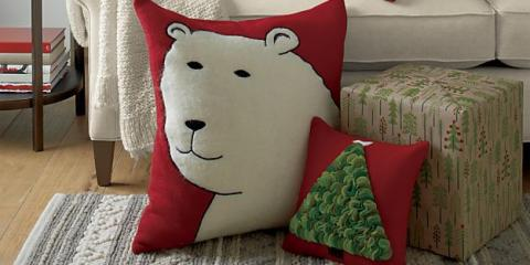 Deck the Halls With Cheerful Home Decor Items From Crate & Barrel, Providence, Rhode Island