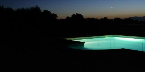 Pool Lights: Bright Ideas From California's Leading Pool Store, Arden-Arcade, California