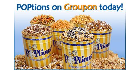 Just in time for the holidays!-POPtions! Popcorn is on Groupon today!, Clayton, Missouri