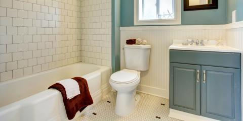5 Ways to Make a Cramped Bathroom Appear Larger, Clinton, Connecticut