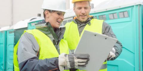 Preparing a Job Site for Port-a-Potties, Madrid, Iowa