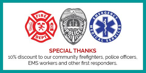 A Special Thanks to First Responders, Northwest Harris, Texas