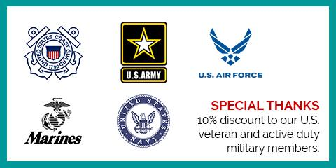 A Salute to Our Military Men & Women, Northwest Harris, Texas