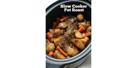 POT ROAST SLOW-COOKED COMFORT SALE, Nekoosa, Wisconsin