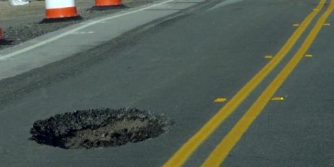Double Diamond Contracting Explains the Importance of Pothole Repairs, Kalispell, Montana
