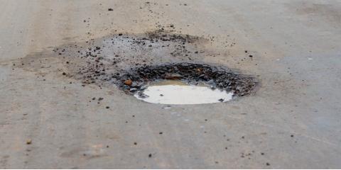 5 Dangers of Having Potholes in Your Asphalt Parking Lot, Kalispell, Montana
