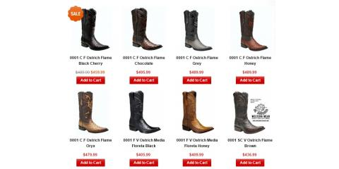 Shop El Potrero Western Wear For The Finest Quality Cowboy Boots & Hats, 1, Charlotte, North Carolina