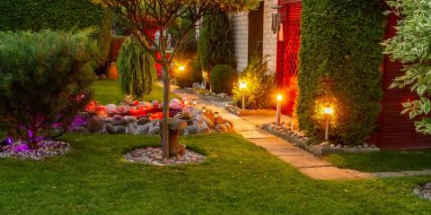 A Guide to Landscape Lighting, Poughkeepsie, New York