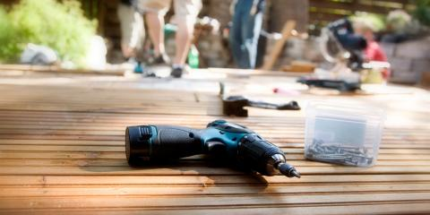 4 Essential Power Tools for Building a Deck, Elk River, Minnesota