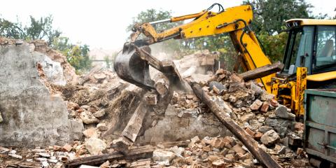 Demolition Projects: How a Heavy Equipment Rental Service Can Help, Genesee Falls, New York