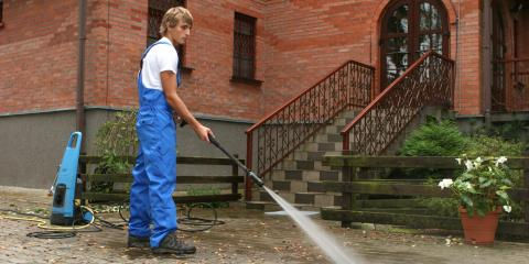 3 Home Features to Power-Wash, New London, Connecticut