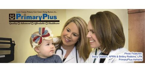 PrimaryPlus, Medical Clinics, Services, Ashland, Kentucky