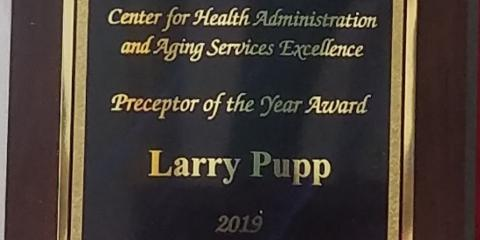 BSJ Corporation's Administrator Recognized As Preceptor of the Year , La Crosse, Wisconsin