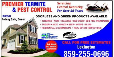 SPRING PESTS ARE HERE, Lexington-Fayette, Kentucky