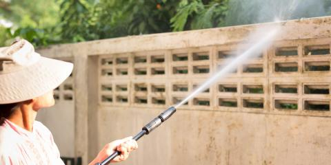 A Guide to Pressure Washing, Evendale, Ohio