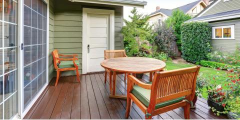 4 Benefits of Staining Your Deck, Cincinnati, Ohio