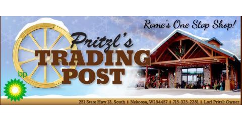 Pritzl's Trading Post, Retail, Shopping, Nekoosa, Wisconsin