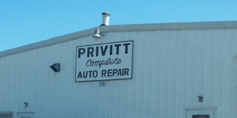 Privitt Auto Service Center, Auto Repair, Services, Columbia, Missouri