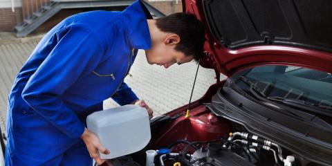 4 Important Fluids for Your Car, Anchorage, Alaska