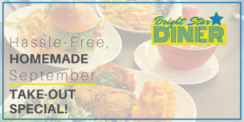 15% Off Bright Star Diner Take-Out! All September Long!, Woodbury, New York