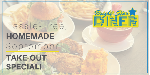 Take Advantage of Bright Star Diner's September Special!, Woodbury, New York