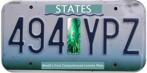 PROOF Smart Tags: The World's First Computerized License Plate, St. Louis, Missouri