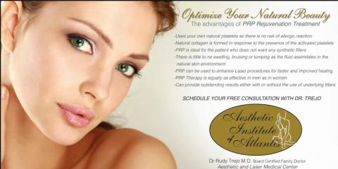 Rejuvenate your Skin! Platelet-Rich Plasma Combined with Fractional Laser Therapy , Lake Worth, Florida