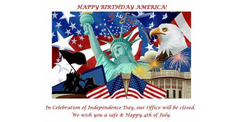 Have a Safe and Happy 4th of July, White Bear Lake, Minnesota