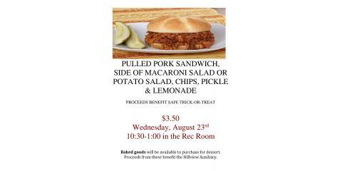 Join us for lunch!, La Crosse, Wisconsin