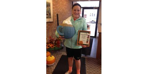 Congratulations Alison for 3rd place in our Pumpkin contest!, Ripon, Wisconsin