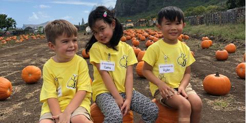 Sounds of Success Preschoolers Learn at the Pumpkin Patch, Ewa, Hawaii