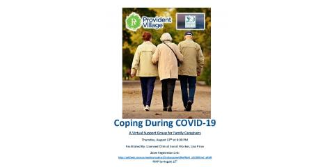 Coping During COVID-19: Virtual Support Group Meeting for Family Caregivers, Canton, Georgia