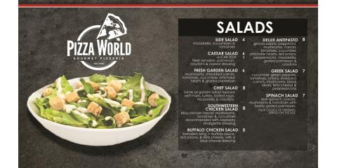 Check out our line up of gourmet salads!, Granite City, Illinois