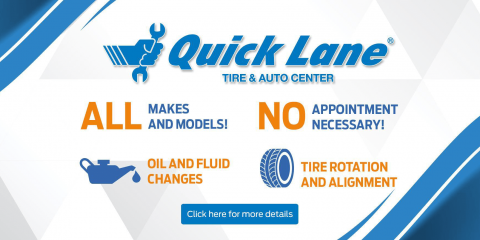 OIL CHANGE & TIRE ROTATION SPECIAL, Versailles, Kentucky