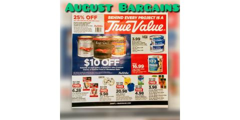 August Bargains of the Month, Bourbon, Missouri