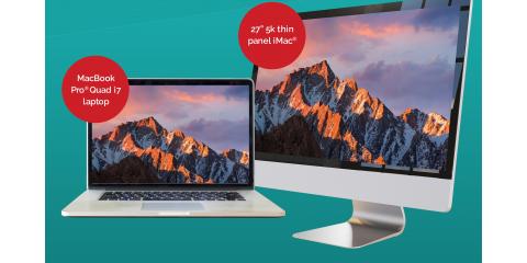 "Enter To Win a Free MacBook® Pro Quad i7 or 27"" 5K iMac® Desktop Computer At Experimac Klein in Klein, TX, Northwest Harris, Texas"