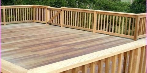 Deck railing height requirements, Trinity, North Carolina