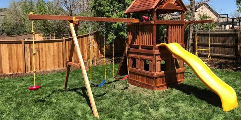 3 Types of Materials That Work Well Around Your Outdoor Play Set, Denver County, Colorado