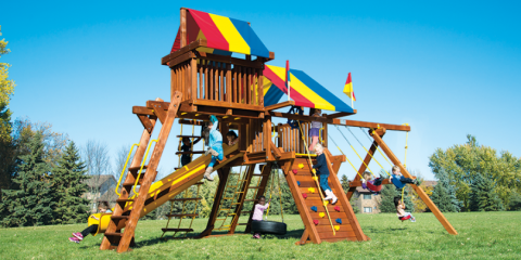BEST PRICE GUARANTEE - Rainbow Swing Sets + Vuly Trampolines, Denver County, Colorado