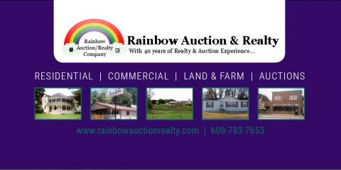 Rainbow Auction & Realty Co, Auctioneers & Auctions, Shopping, Holmen, Wisconsin