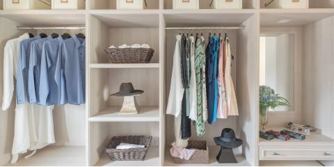5 Ways to Organize a Closet, Raleigh, North Carolina