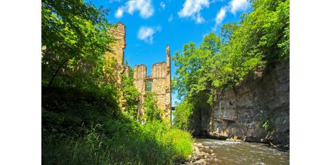The Old Ramsey Mill, the Ardent Mills and the Vermillion Falls Trail Adventure., Hastings, Minnesota