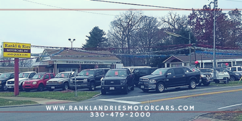 Rankl & Ries Motorcars, Car Dealership, Shopping, Canton, Ohio